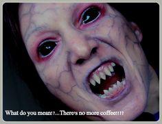 demon makeup by Rhonda Causton (Reel Twisted X)