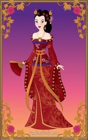 Disney Wedding - Mulan by LadyAquanine73551