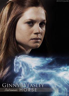 Ginny Weasley| Patronus: Horse