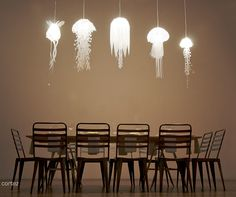 Jellyfish Lamps Shine Rather Than Sting #IncredibleThings