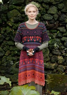 """""""Ängskär"""" cotton dress – Roslagen – GUDRUN SJÖDÉN – Webshop, mail order and boutiques   Colorful clothes and home textiles in natural materials."""