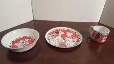 Zak Designs 101 Dalmatians 3 Piece Melamine Plate/Bowl/Mug Set Kids Eatery  #ZakDesigns