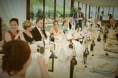 The marquee at Villa San Crispolto - the perfect setting for your destination wedding www.romanticitalianweddings.com