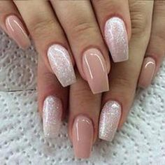 There are three kinds of fake nails which all come from the family of plastics. Acrylic nails are a liquid and powder mix. They are mixed in front of you and then they are brushed onto your nails and shaped. These nails are air dried. Gorgeous Nails, Love Nails, How To Do Nails, Pretty Nails, My Nails, Matte Nails, Squoval Acrylic Nails, Dark Nails, Perfect Nails