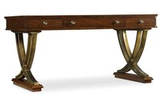 Hooker Andrea Writing Desk - I wish they did a white version of this.