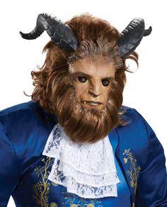 Ultra Prestige Latex Beast Mask - Disney Beauty and the Beast Costumes