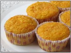 Magdalenas de zanahoria Cooking Recipes, Healthy Recipes, Sweet Life, Sin Gluten, Four, Sugar Free, Carrots, Cake Decorating, Muffins
