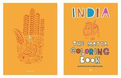 India: The Matta Coloring Book | 35 Coloring Books For People Of All Ages