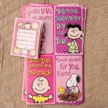 Card-Boxed-Valentine-Peanuts W/Stickers (Child) (P  (32 Pack)