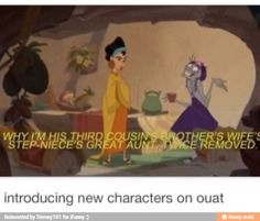 That is why the OUAT fandom never explains the show. Fandoms, Der Computer, Between Two Worlds, Emperors New Groove, Animation, Disney And Dreamworks, Look At You, Best Shows Ever, Movies Showing