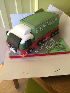Eddie Stobart Cake