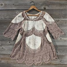 Vintage 70's Lace Tunic