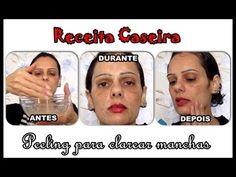 Receita da vovó - Peeling caseiro para clarear a pele   Luciana de Queiróz