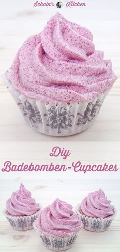 DIY - Pflegende Badebomben-Cupcakes einfach selber machen - www. You are in the right place about DIY Anniversary dinner Here we offer you the most beautiful pictures about the DIY Ann