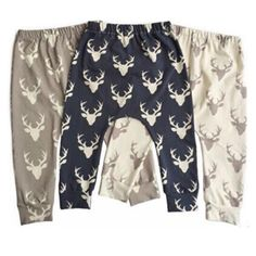 6185dcc2c92416 US $3.66 20% OFF|Fashion Baby Boys Pants Cotton Infant Full Pants Harem  Pants Children Cartoon Deers Print Baby Clothes Long Pants for Boys-in Pants  from ...