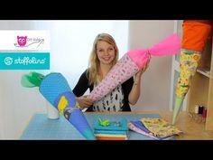 Schultüte nähen - DIY Eule & Stoffolino.de - YouTube