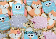 Flour Box Bakery Video — How to Decorate a Hedgehog Cookie