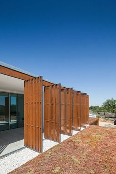 View the full picture gallery of Quinta Dos Pombais House House Cladding, Wood Cladding, Outdoor Shutters, Modern Shutters, Woodland House, Sea Container Homes, House Shutters, Marquise, Architecture Details