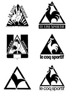 Le Coq Sportif logo evolution