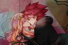 Nosaka Yuuma x Mikado Anna❤ Anime Couples, Cute Couples, Eleven 11, Anna, Anime Expressions, Inazuma Eleven Go, Some Pictures, Diabolik Lovers, Spiderman