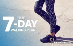 With the mercury rising, it's easy to make excuses and miss a workout, which is where a 7-day walking pledge comes in handy.