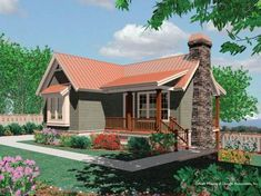 *** tiny...but probably large enough 1735sqft main 490sqft daylight basement Mascord House Plan 1151 - The Amorette