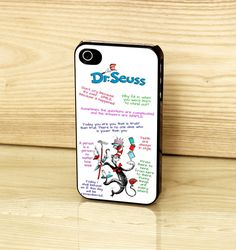 The Cat In The Hat By Dr Seuss Quote Case For iPhone Samsung HTC Phones in Mobile Phones & Communication, Mobile Phone & PDA Accessories, Cases & Covers | eBay