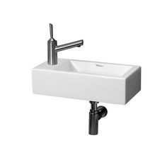 Whitehaus WH1-114L Isabella 19-3/4 Inch Wall Mount Basin