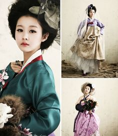 한복 - beautiful Korean hanbok.