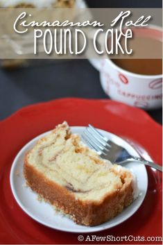 You will never want a regular pound cake again! Check out this Cinnamon Roll Pound Cake recipe
