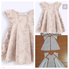 Frock Patterns Girl Dress Patterns Clothing Patterns Sewing Patterns Girls Dresses Sewing Little Girl Dresses Sewing Clothes Diy Clothes Baby Sewing Frock Patterns, Baby Girl Dress Patterns, Baby Dress Design, Dress Sewing Patterns, Pattern Sewing, Frocks For Girls, Kids Frocks, Dresses Kids Girl, Kids Outfits