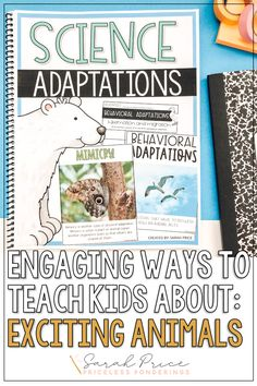 Take the stress out of planning your animal adaptations 4th grades lesson plans by grabbing these easy pre-made worksheets.