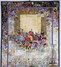*Oh. my. god. click to her site and see all the gorgeous art she has created! Watercolor Quilts