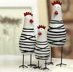Greencherry Wood Cute Chicken Chook Carving Figurines for... https://www.amazon.com/dp/B00XAARBO0/ref=cm_sw_r_pi_dp_RzaDxb6DEFWDS