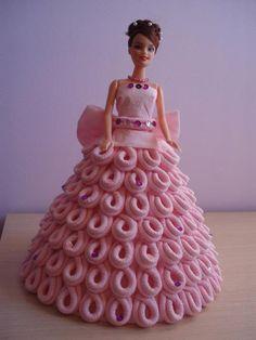 Como hacer un hermoso vestido de muñeca