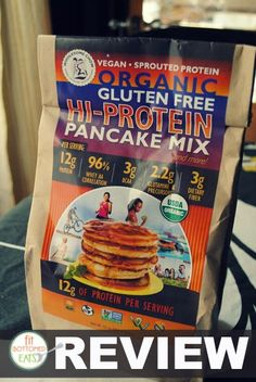 Wholesome Chow Gluten-Free Hi-Protein Pancake Mix Review: Get ready for a tasty surprise.