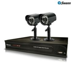 Swann 4-Channel DVR Security System with 2 Night-Vision Cameras at 56% Savings off Retail!