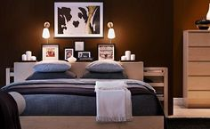 The modern Malm bedroom furniture line by Ikea is based on an important design concept that simpler is better. The line features eight amazing pieces of furniture. Ikea Bedroom Sets, Ikea Bedroom Furniture, Home Bedroom, Bedroom Decor, Bedroom Ideas, Bedroom Designs, Bedroom Inspiration, Wooden Furniture, Dream Bedroom
