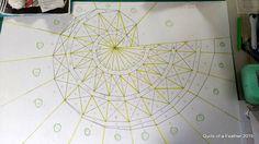 Quilts of a Feather: Pythagorean Spiral Quilt