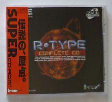 R-TYPE COMPLETE CD★PCエンジンのターボデュオCD JPNインポート