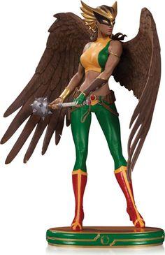 DC Comics Cover Girls Hawkgirl Statue : Forbidden Planet