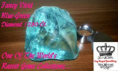 Fancy Vivid Blue Green Diamond