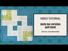 This is a bento box quilt block variation. Learn to make a bento box block in 2 minutes If you enjoy my videos, subscribe to my YouTube channel. Block size 10 1/2 inch square Materials Block 1 1 bl…