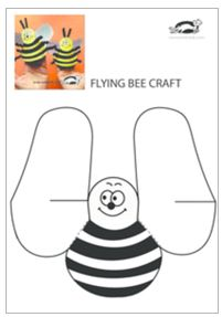children activities, more than 2000 coloring pages Bee Crafts For Kids, Farm Crafts, Preschool Crafts, Spring Projects, Spring Crafts, Bumble Bee Birthday, Insect Crafts, Art N Craft, Sunday School Crafts