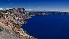 Crater Lake Shoreline, Or