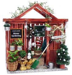 クリスマスガーデンハウス - Billy ~ビリーの手作りドールハウスキット~