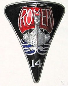 Badge for the Rover 16 Marked J Fray B'ham. Similar to the badges of the Rover 12 and 16 of the same period. Car Badges, Car Logos, Logo Autos, Car Rover, Car Hood Ornaments, Car Furniture, Automotive Art, Animal Logo, Car Manufacturers