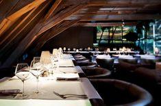 El almacén medieval de grano de Gante, ahora un restaurante de vanguardia