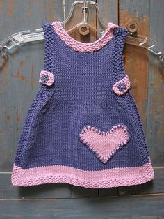 Baby fashion - roupa - February 09 2019 at Knit Lilly Rose Dress pattern by Taiga Hilliard This Pin was discovered by Ell Likes, 163 Comments - ⤵B Knitting For Kids Crochet Baby Sweaters, Crochet Coat, Knitted Baby Clothes, Crochet Cardigan Pattern, Girls Knitted Dress, Knit Baby Dress, Crochet Girls, Knitting For Kids, Baby Knitting Patterns