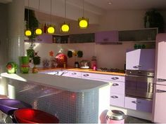 Languedoc property for sale - kitchen http://www.languedoc-holidays-vendres.com